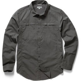 Craghoppers Kiwi Trek Longsleeve Shirt Men Ashen